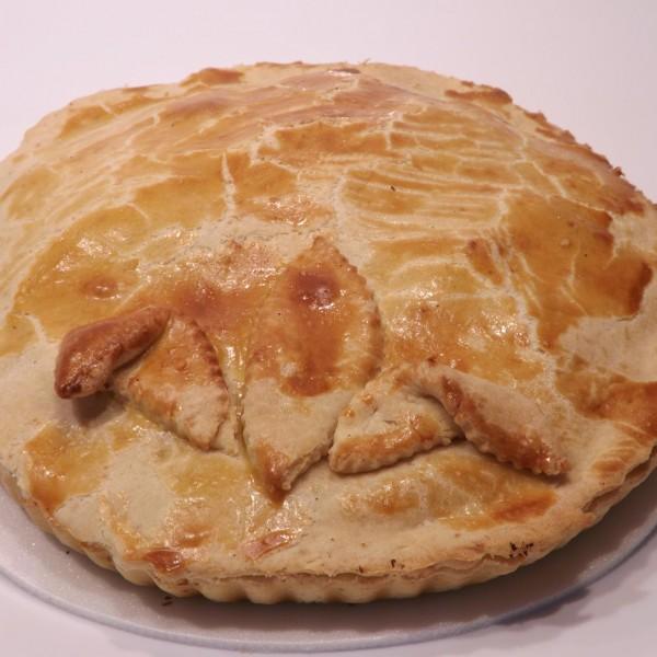 Torta de palmito,ervilha e azeitona,384